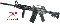 Airsoft - DPMS M4A1 R.I.S. AIR SOFT SPRING POWERED RIFLE