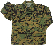 KIDS WOODLAND DIGITAL CAMO BDU SHIRTS
