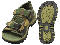 FOOTWEAR - KIDS & ADULT WOODLAND CAMO HIKING SANDALS
