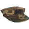 Hat - USMC Cover with Emblem Woodland Camo