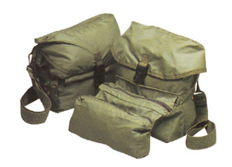 G.I. STYLE MEDICAL KIT BAG, 10'' X 8'' X 41''