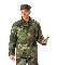 M-65 Woodland Camo Field Jacket with Liner