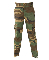 PROPPER™ Kids BDU Woodland Camo Trouser Buttons Showing
