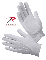 GLOVES - GRIPPER DOT WHITE PARADE GLOVES