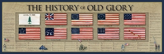Poster - History of Old Glory Poster