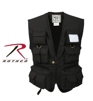 Kids Military Tactical Vest Black Young Marines Bx