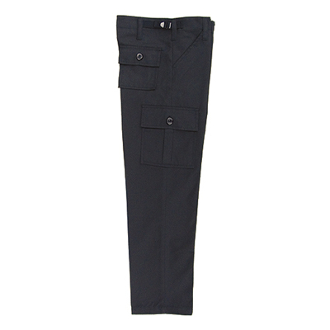 Kids -  Boys Black Military Pants B.D.U.s'