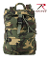 Backpack - CANVAS DAYPACK - WOODLAND CAMO