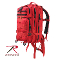 Backpacks -RED MEDIUM TRANSPORT PACK