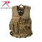 Cross Draw MOLLE Tactical Vest - COYOTE