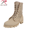 Boots - Classic Military Jungle Boots Desert Tan
